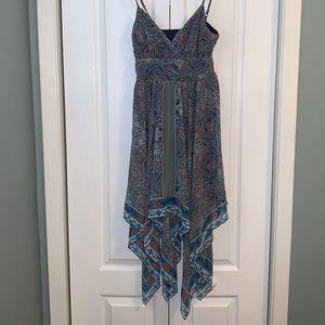 Dynamite Boho Paisley sun Dress size xs
